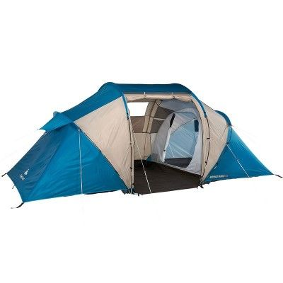 Tente Decathlon 2015 Family 4 Places 2 Chambres Tente Decathlon Tente Camping Familiale Tente Familiale