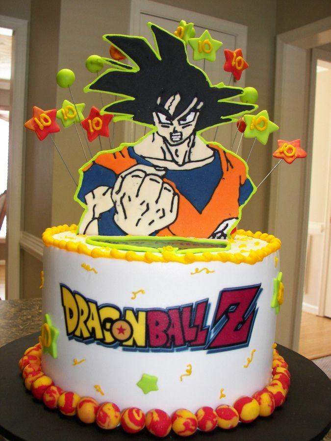 Dragon Ballz Goku Birthday Cakes Dragon Ball Pinterest Goku