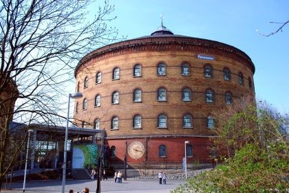 The old gasometer is a museum today.