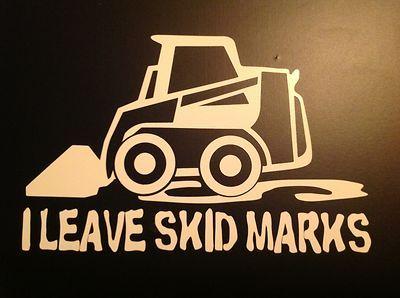 Skidsteer Skid Steer Bobcat Funny Decal Sticker | eBay. OMG hahaha!!!! Cute! :)