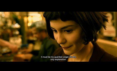 Amelie Poulain, the guardian angel of Paris.