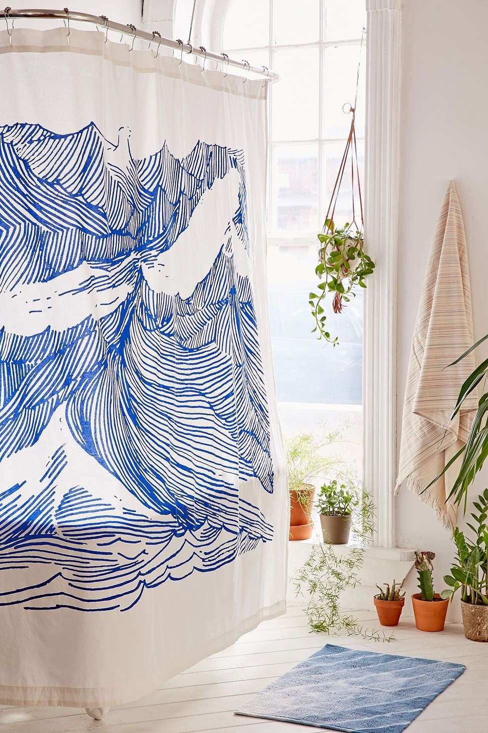 Urban Outfitters Home On Instagram A Macrame Shower Curtain For