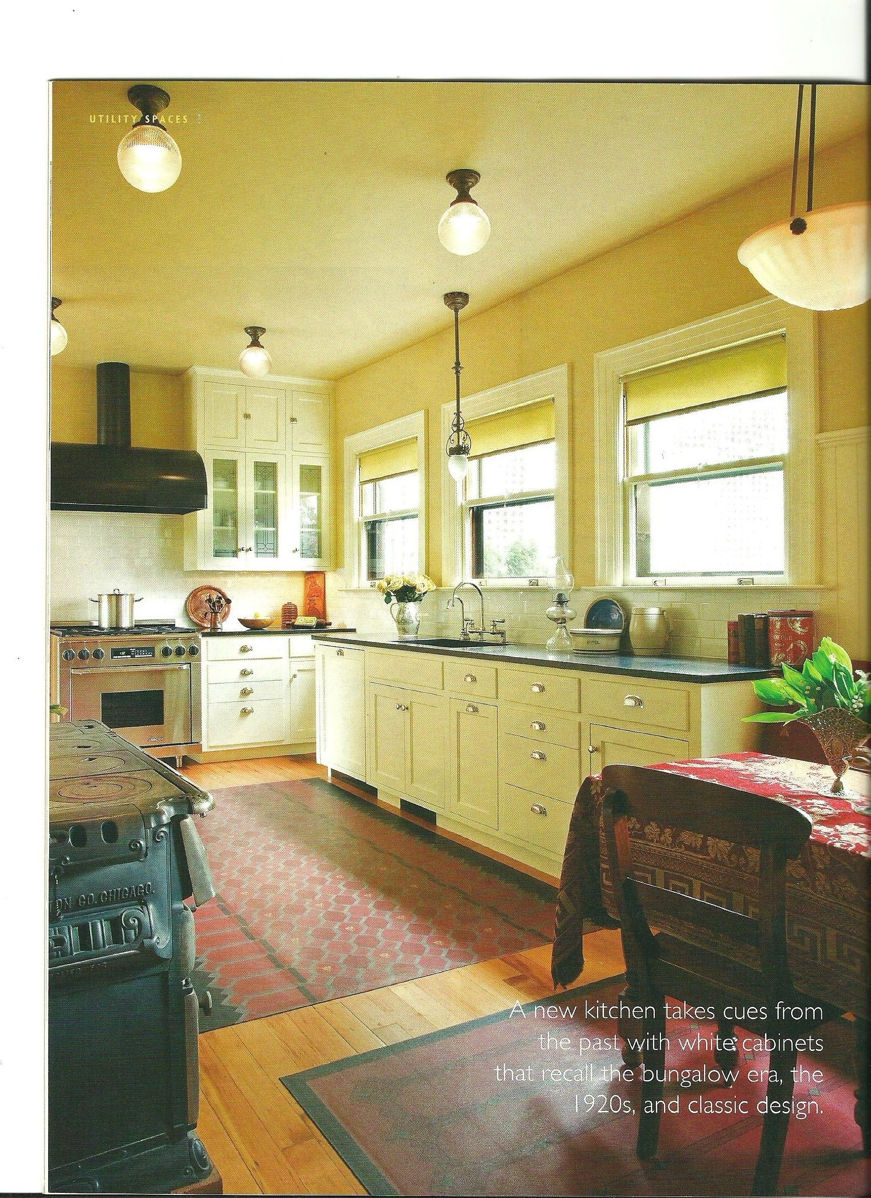 Simple Cotton Shades in a Portland Kitchen | Home improvement ...