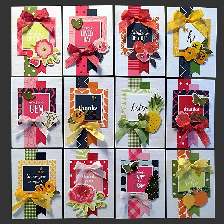 3 Minute All Occasion Card Kit Kim S Card Kits Handmade