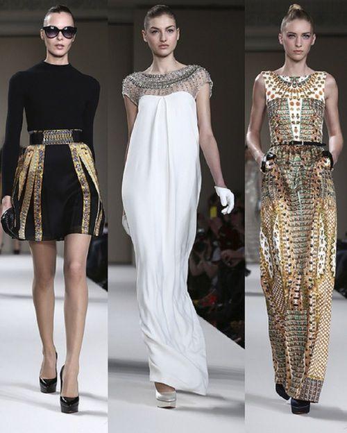 Ancient Egyptian inspiration, Autumn Fashion | EURO ...
