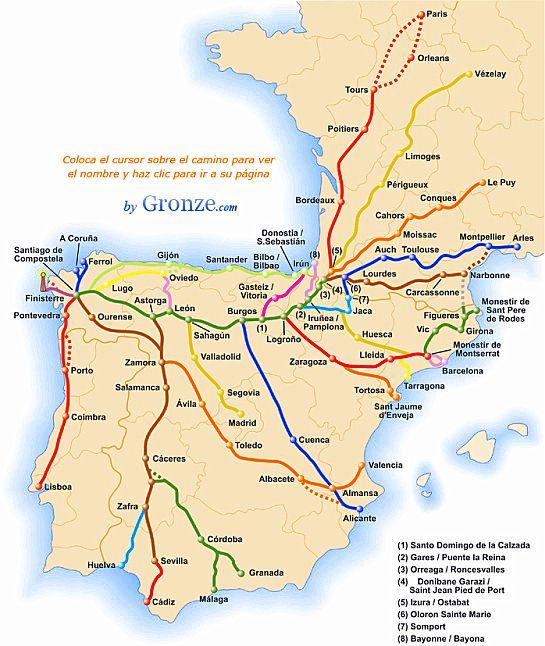 The Way of St James ~ A Pilgrimage on the Camino de Santiago ... Camino French Way Map on nevada county map, thesis map, santa cruz map, egnatian way map, culver city map, columbia map, alpine map, fairfield map, cadiz spain map, el dorado map, madera map, volcano map, alturas map, grenada map, colton map, napa map, sierra city map, buena vista map, shasta map, canyon country map,