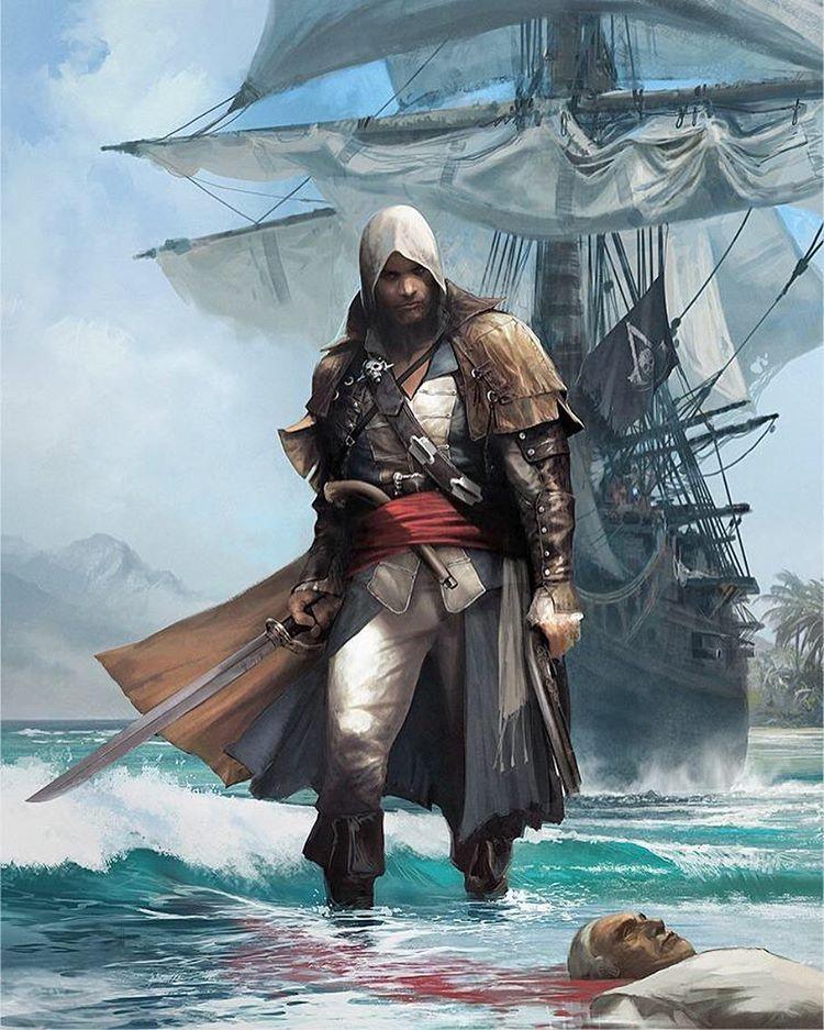 Captain kenway #assassinscreed #assassins #ubisoft #edwardkenway