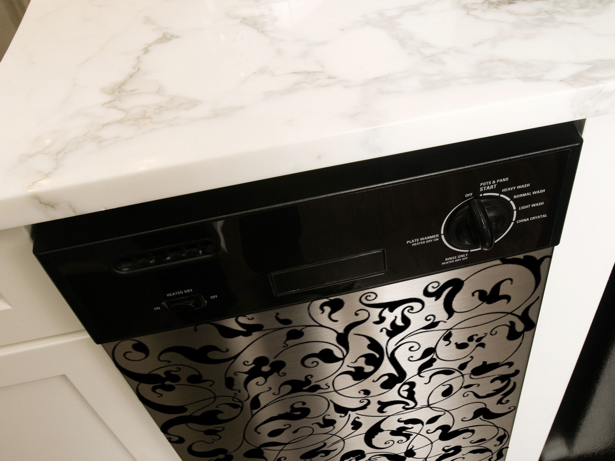 Appliances love decals too kitchens big and dishwashers