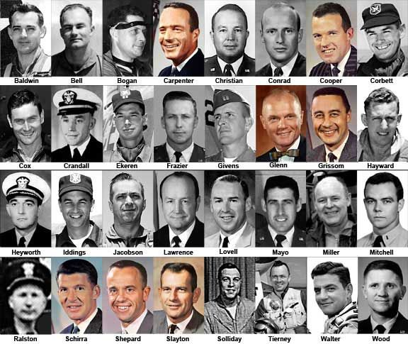 40th Anniversary of the Selection of the Mercury 7 Astronauts