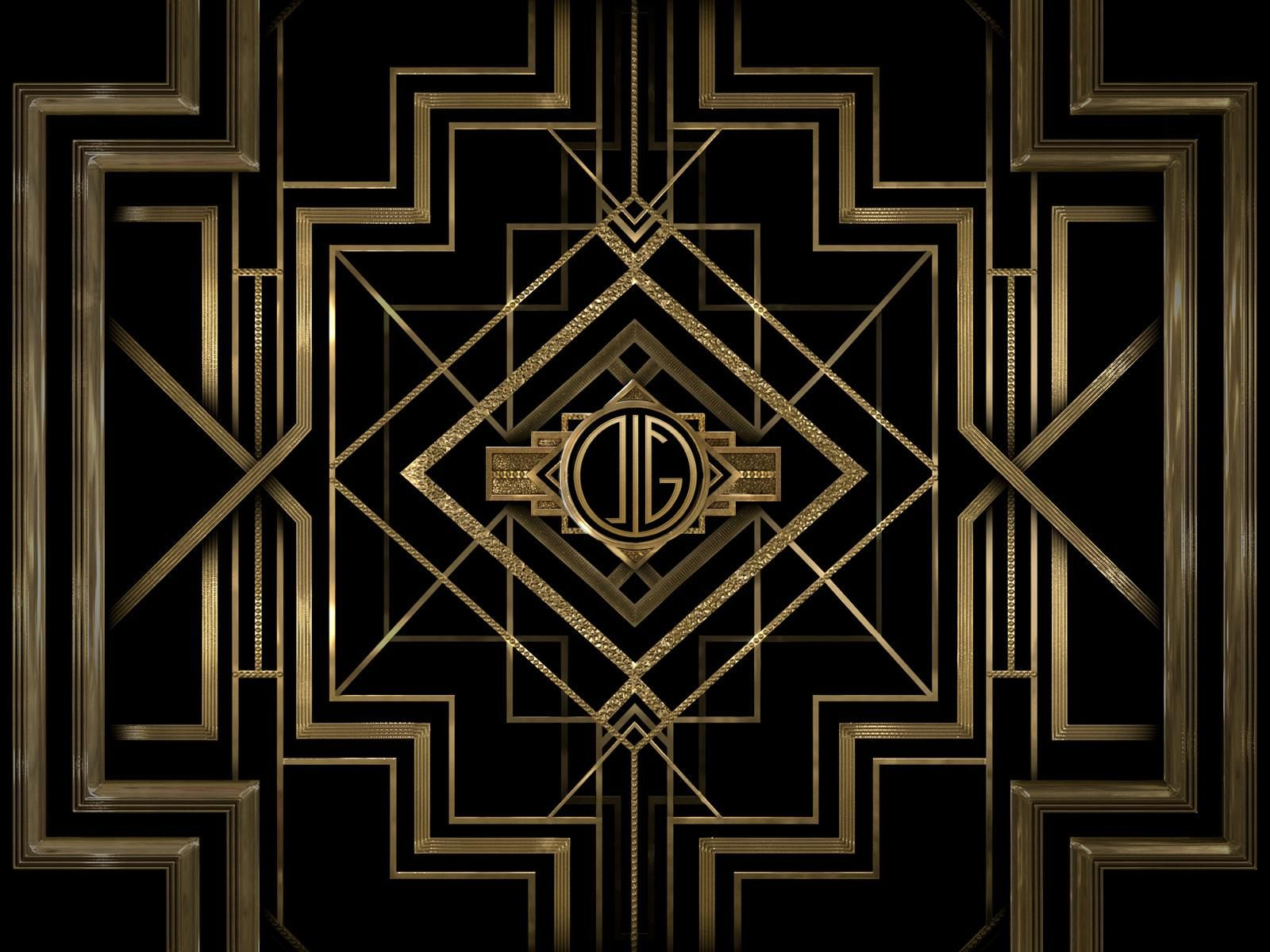 Art deco backdrop for photos wall decor party decoration 1920 s - Find This Pin And More On Art Deco