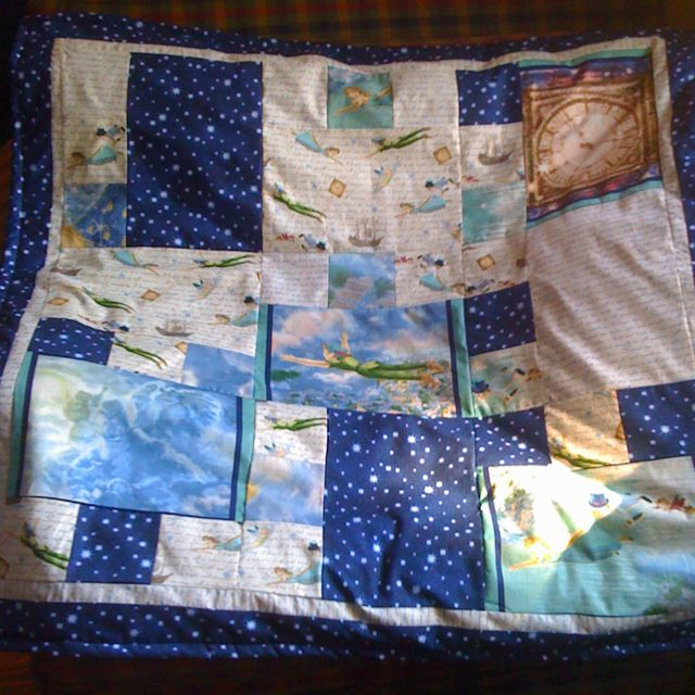 Peter Pan Baby Blanket.Peter Pan Quilt I Made For Myself Baby Boy Quilts