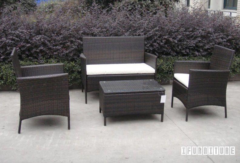 Tavolo Rattan ~ Ebay itm set divano poltrone tavolo giardino esterno