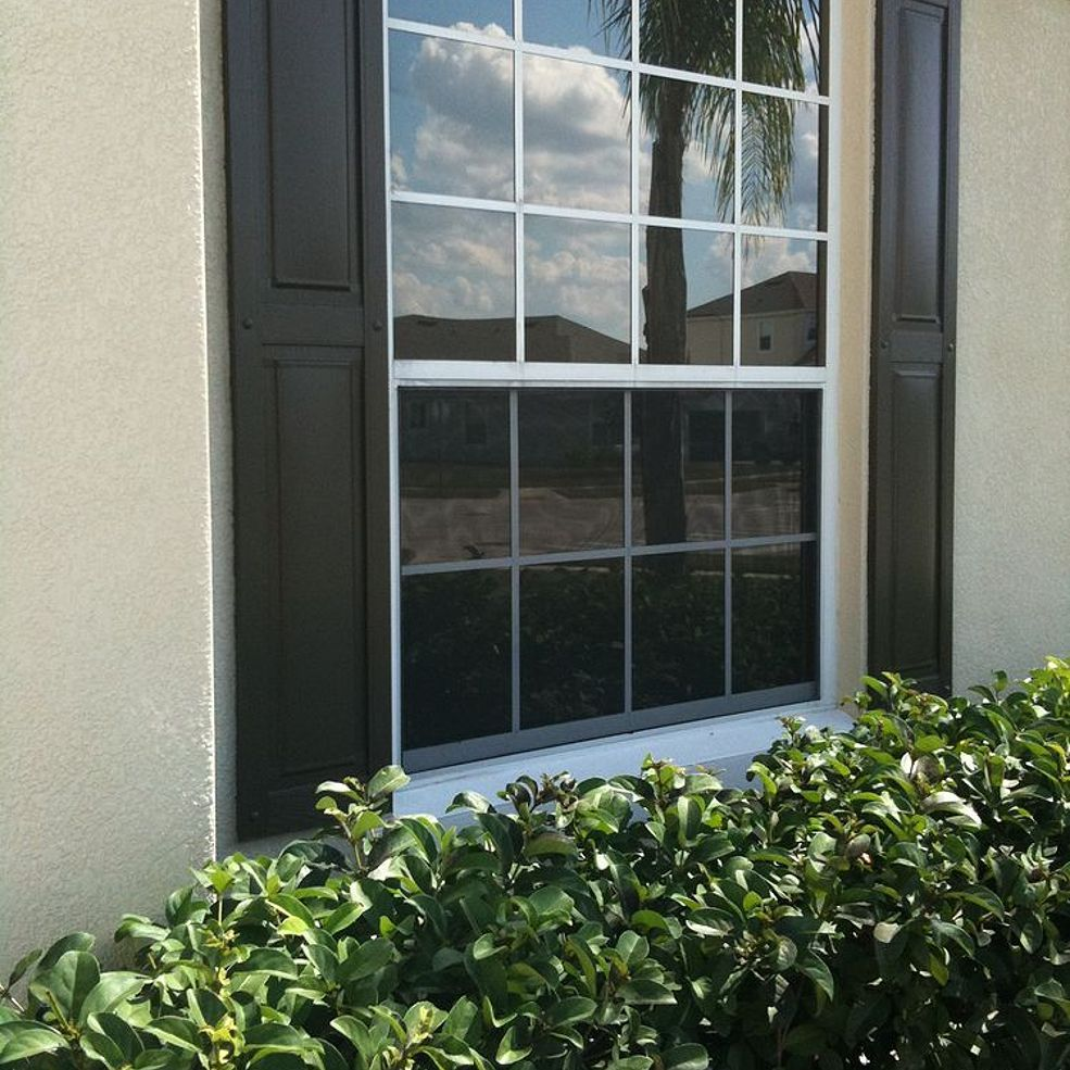 We Had All Of The Windows On Front Our House Tinted With 3m