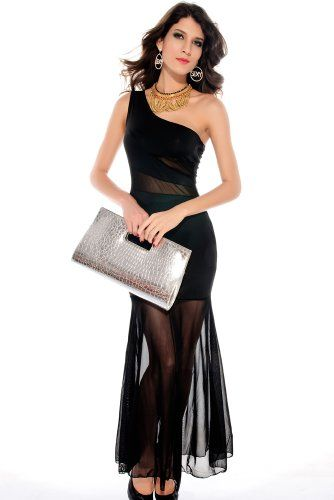 WenMei Women's tail swing chiffon Long Dress Black WenMei http://www.amazon.com/dp/B00IZHAXH0/ref=cm_sw_r_pi_dp_dqNfub0N3TEXY