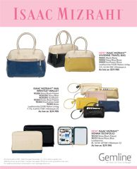 Isaac Mizrahi!  Nice Promo products for Women! ann@hotstuffmarketing.com