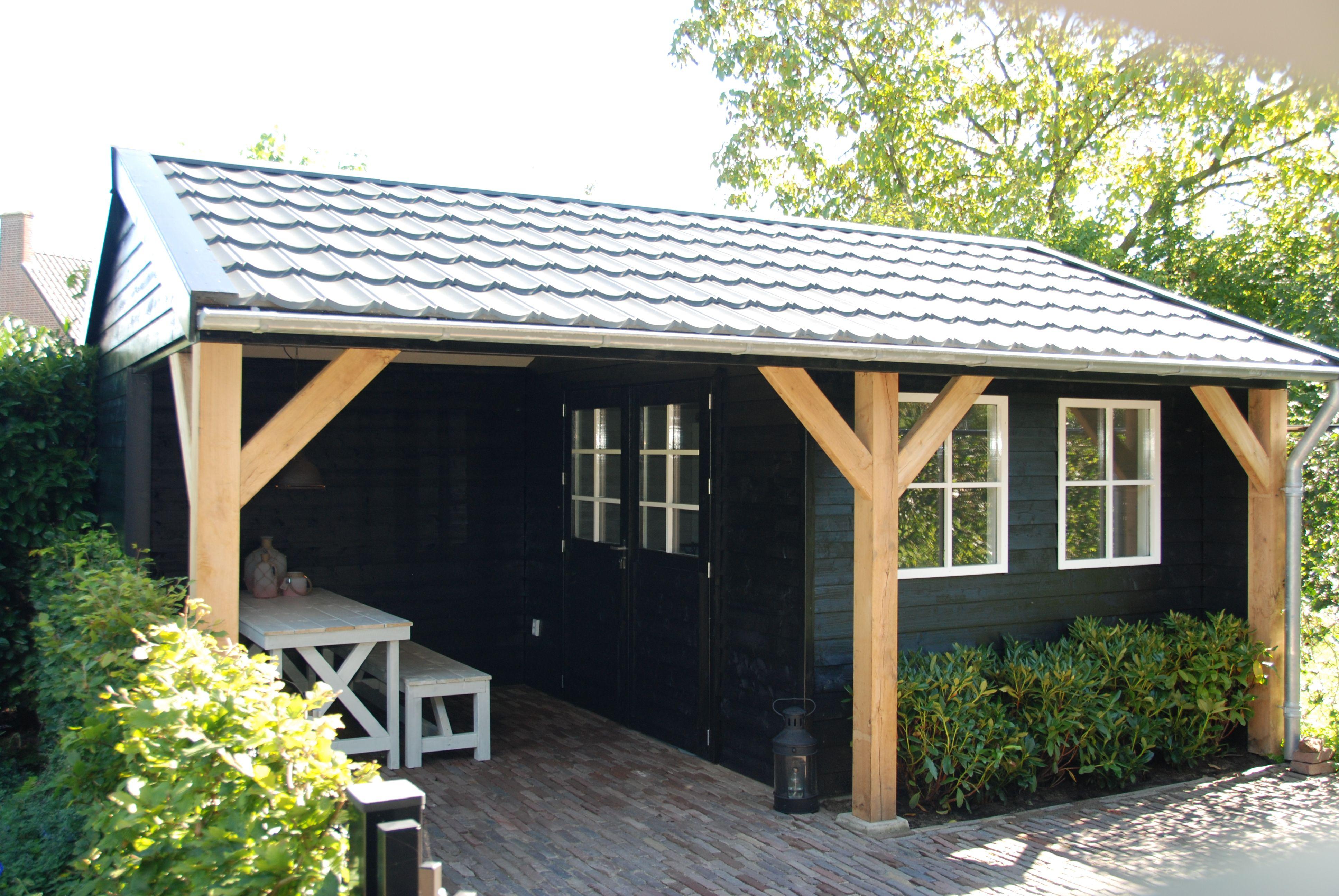 Garage Met Veranda : Cape cod garage met veranda in l vorm in sint maarten gommers