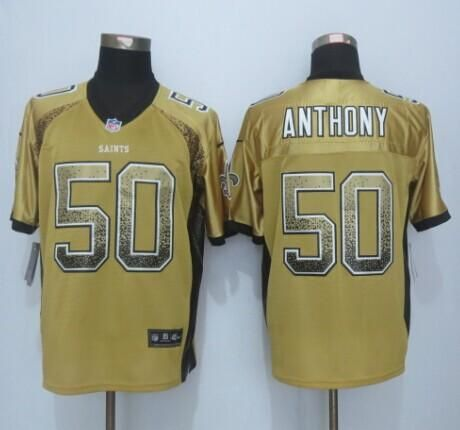 sneakers for cheap 4ffcb 6a9d5 Colts Pat McAfee jersey Nike Saints #50 Stephone Anthony ...