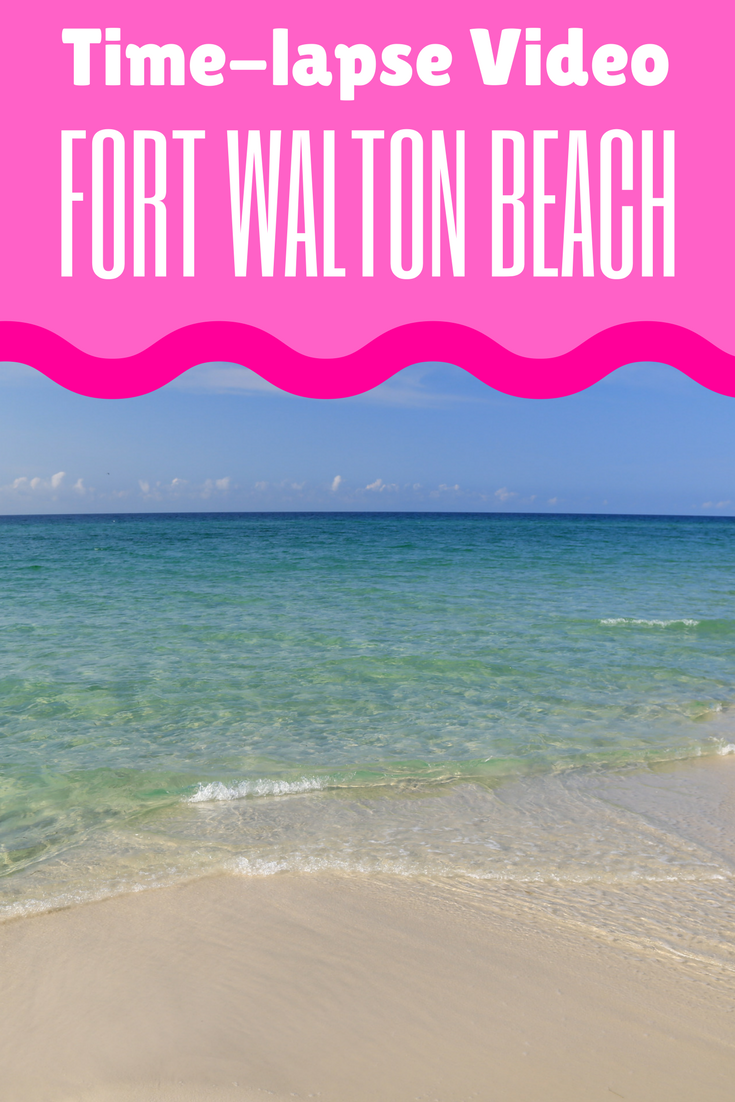 See what 60 minutes in Fort Walton Beach looks like in one minute!
