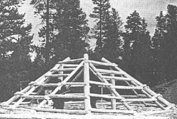 Construction Of Pit House Roof Frame Roof Framing House Roof House