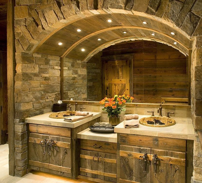 Pin by chuck eubanks on cool log cabins pinterest Kitchen and bathroom design courses london