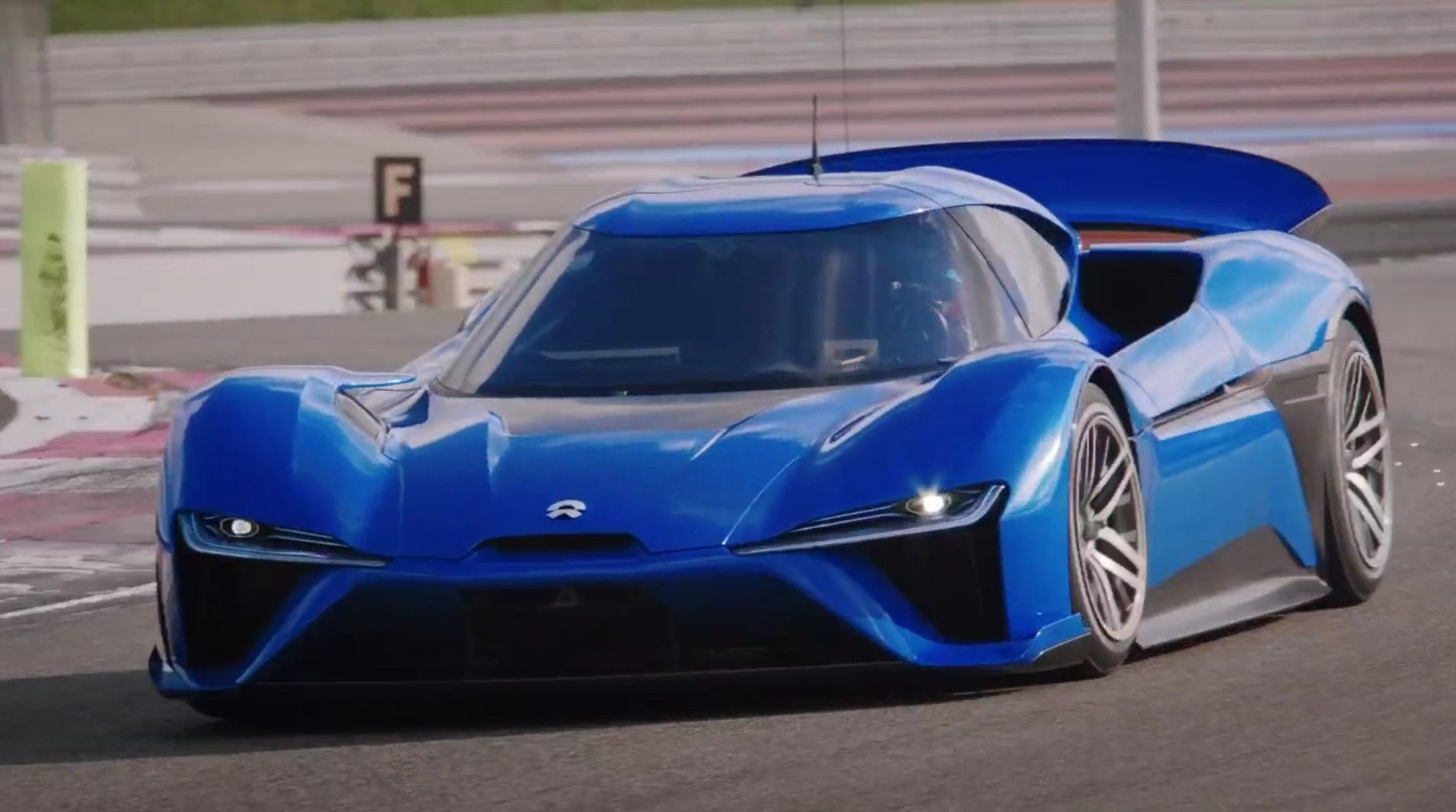 Chinese Electric Car Startup Nio Has Announced A Second Production Run For Its Ep9 Supercar Nio Made The Announcement On Wedn Car Super Cars All Electric Cars