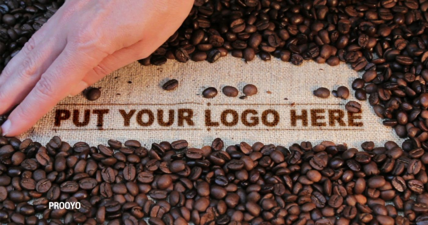 Coffee Bean Logo jasapembuatanvideo logoopener