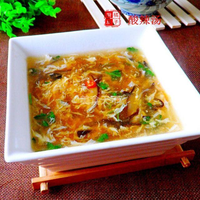 酸辣汤的做法_酸辣汤的家常做法_酸辣汤怎么做好吃_酸辣汤-美食天下