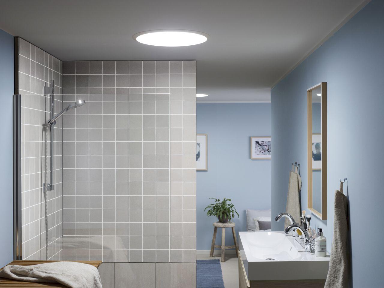 Der Tageslicht-Spot auch im Bad eine tolle Alternative zum ...