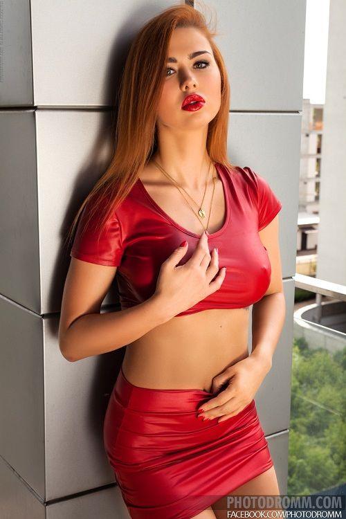 Redhead model Justyna | Justyna (Photodromm)