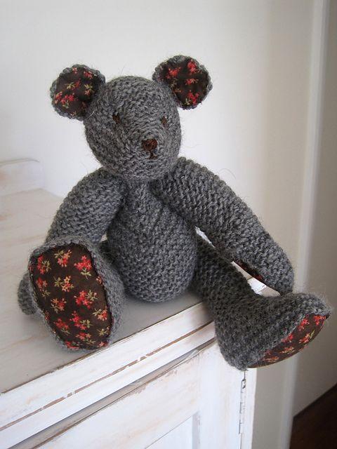 Ravelry: Teddy Bear pattern by Erika Knight | Knitting | Pinterest