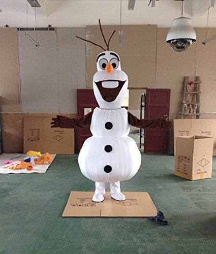 Olaf snowman mascot costume cospaly cartoon character adult size olaf snowman mascot costume cospaly cartoon character adult size warmcos http solutioingenieria Images