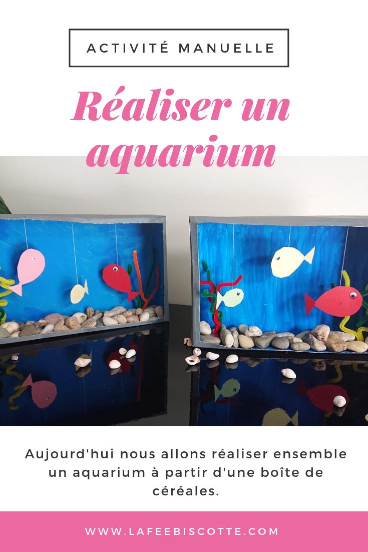 Activité manuelle : Réaliser un aquarium - La Fée Biscotte