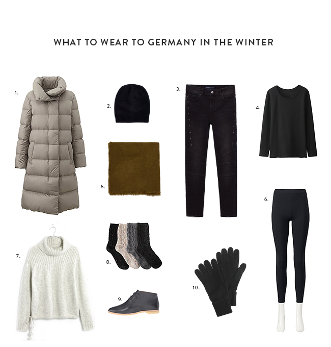What to wear in Germany in the Winter