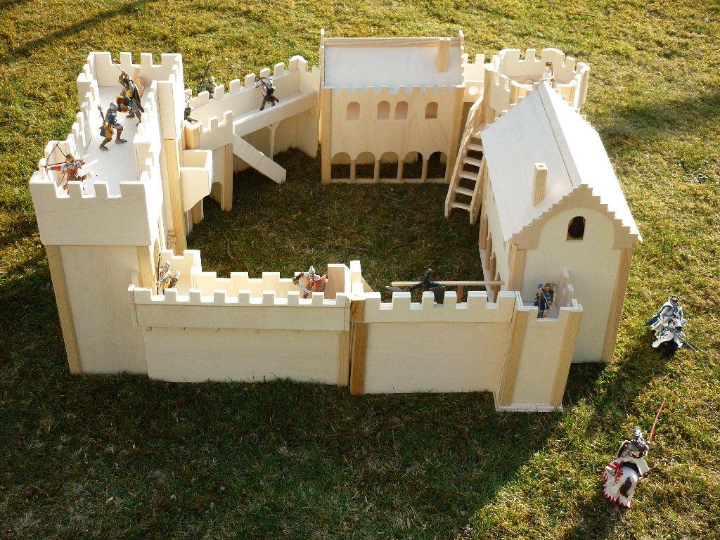 ritterburg selbst gebaut schleich dich papo zwergkaninchen blog toys ritterburg. Black Bedroom Furniture Sets. Home Design Ideas