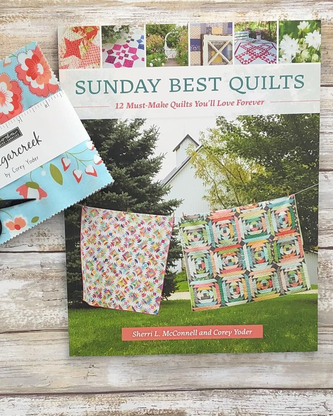 I was just talking about Sunday Best Quilts and now here