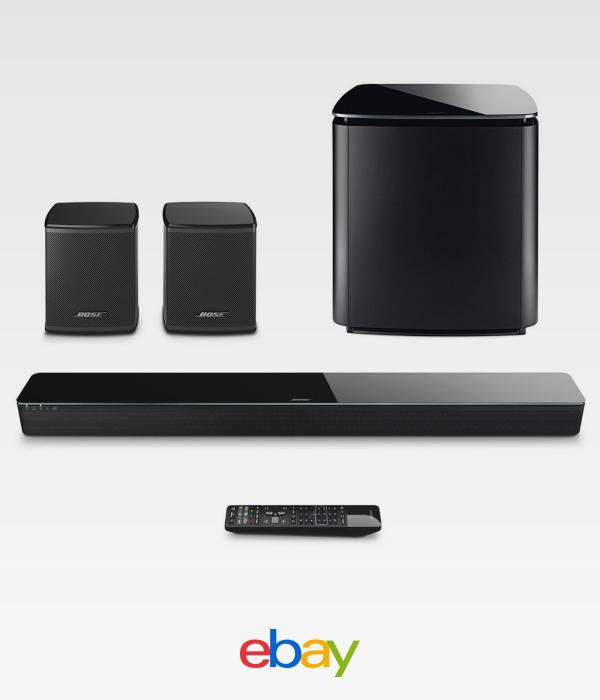 Bose Soundtouch 300 Bundle W Subwoofer Virtually Invisible Wireless Speakers Wireless Speakers Sound Bar Bose