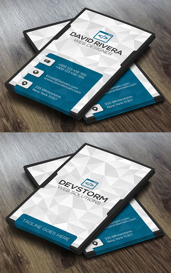 Creative Business Cards Design (Print Ready) | Design | Graphic ...