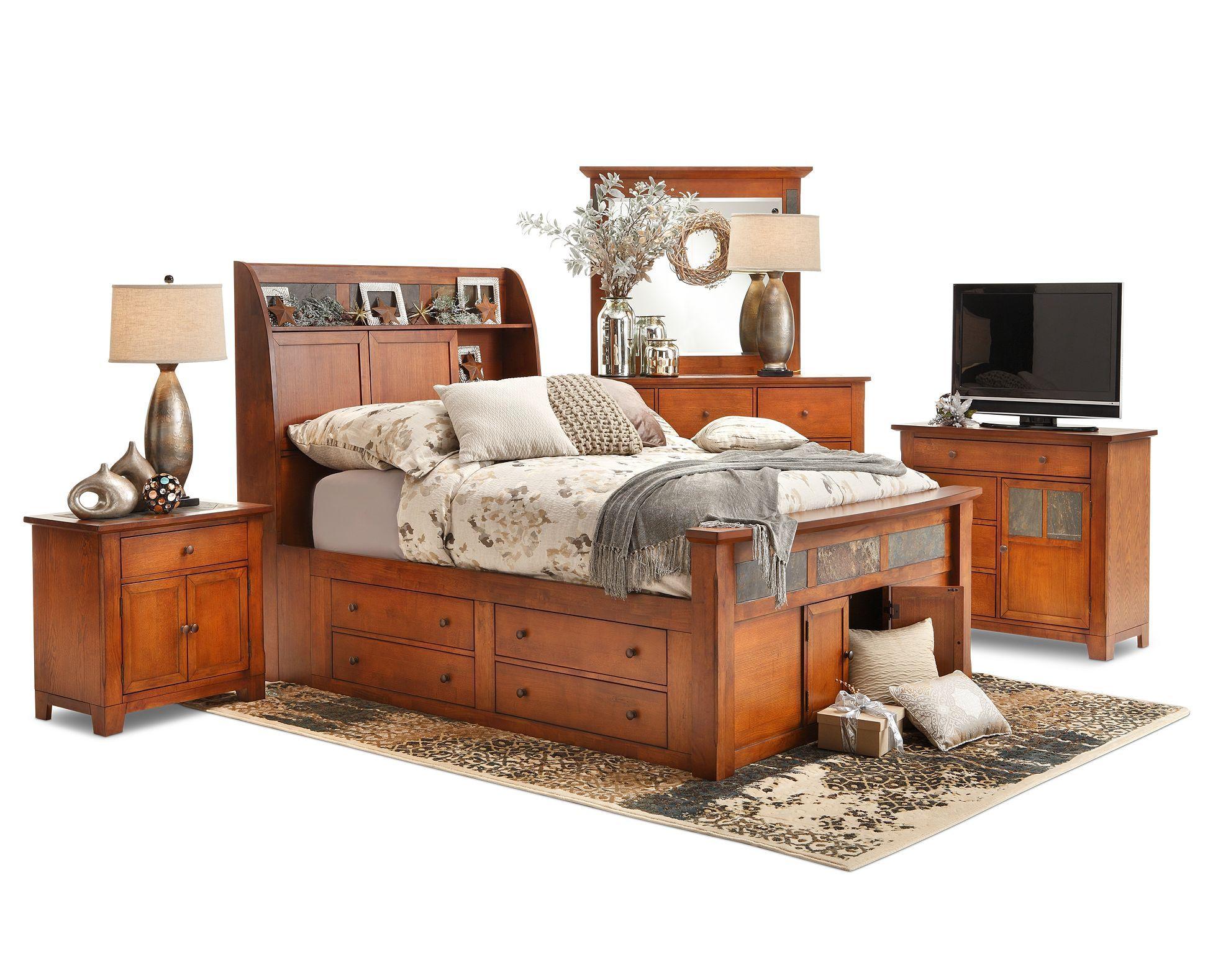 Aspen Storage Bed - Furniture Row  Rowe furniture, Furniture, Bed