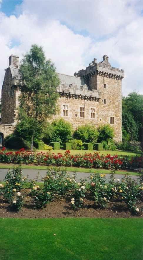 livingston castles of scotland
