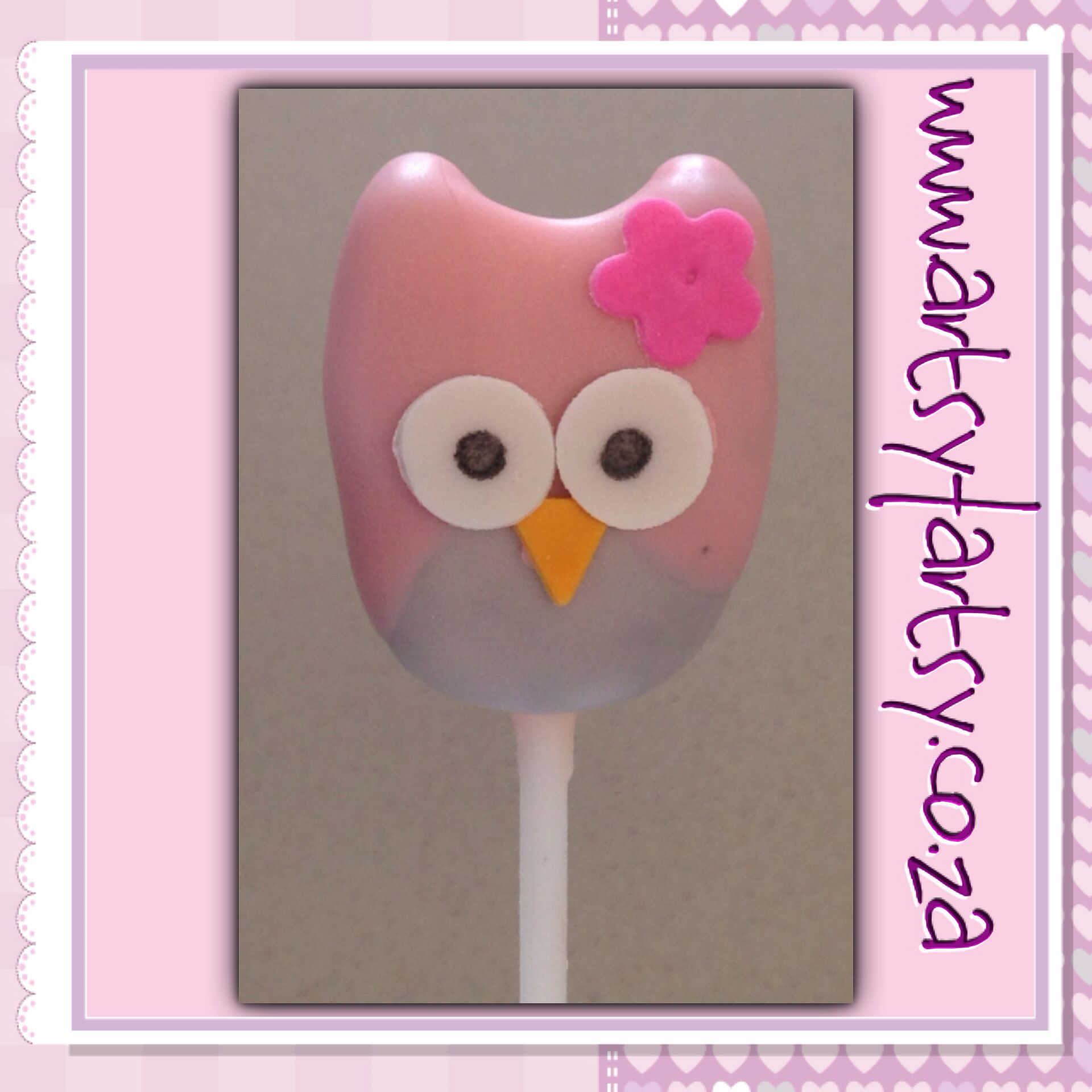 Owl Cakepop #owlcakepop