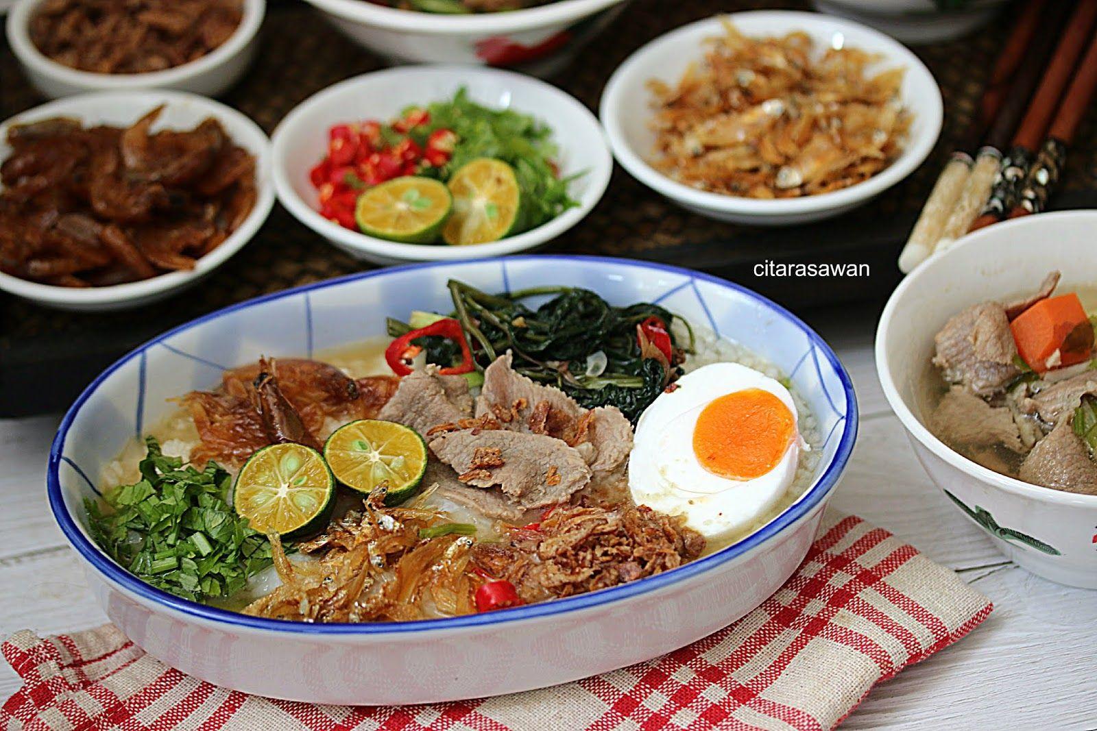 Nasi Bubur Berlauk Ala Thai Resepi Terbaik Di 2020 Makanan Kari Ubi