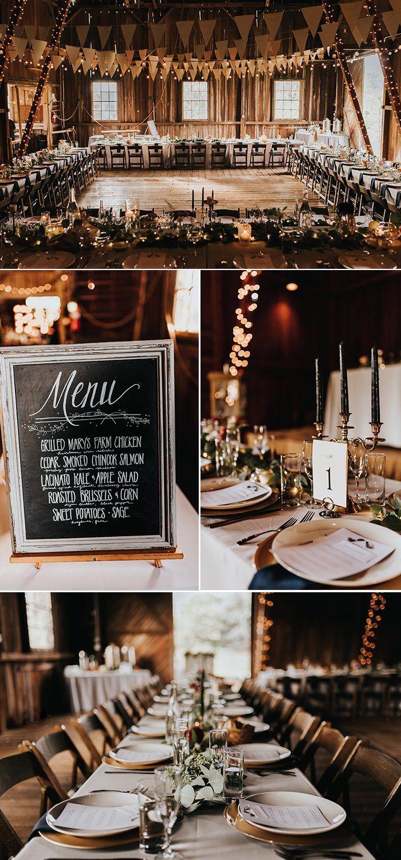 Moody Romantic Oregon Wedding at Barn Kestrel | Wedding ...
