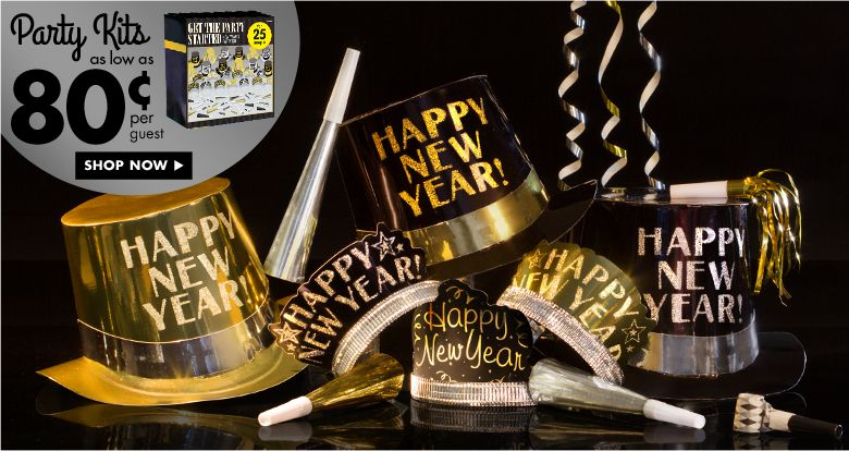 New Year\'s Eve Party Kits | Happy New Year | Pinterest | Party kit