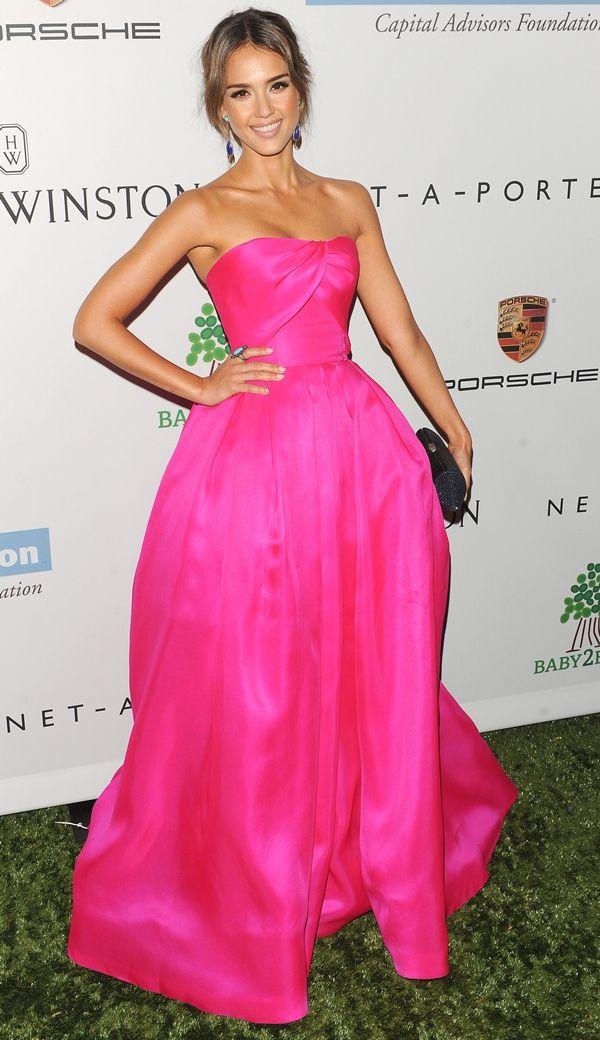 a0416baad504 Lady in pink  Jessica Alba BeautyOffice Blog de Moda e Maquiagem ...