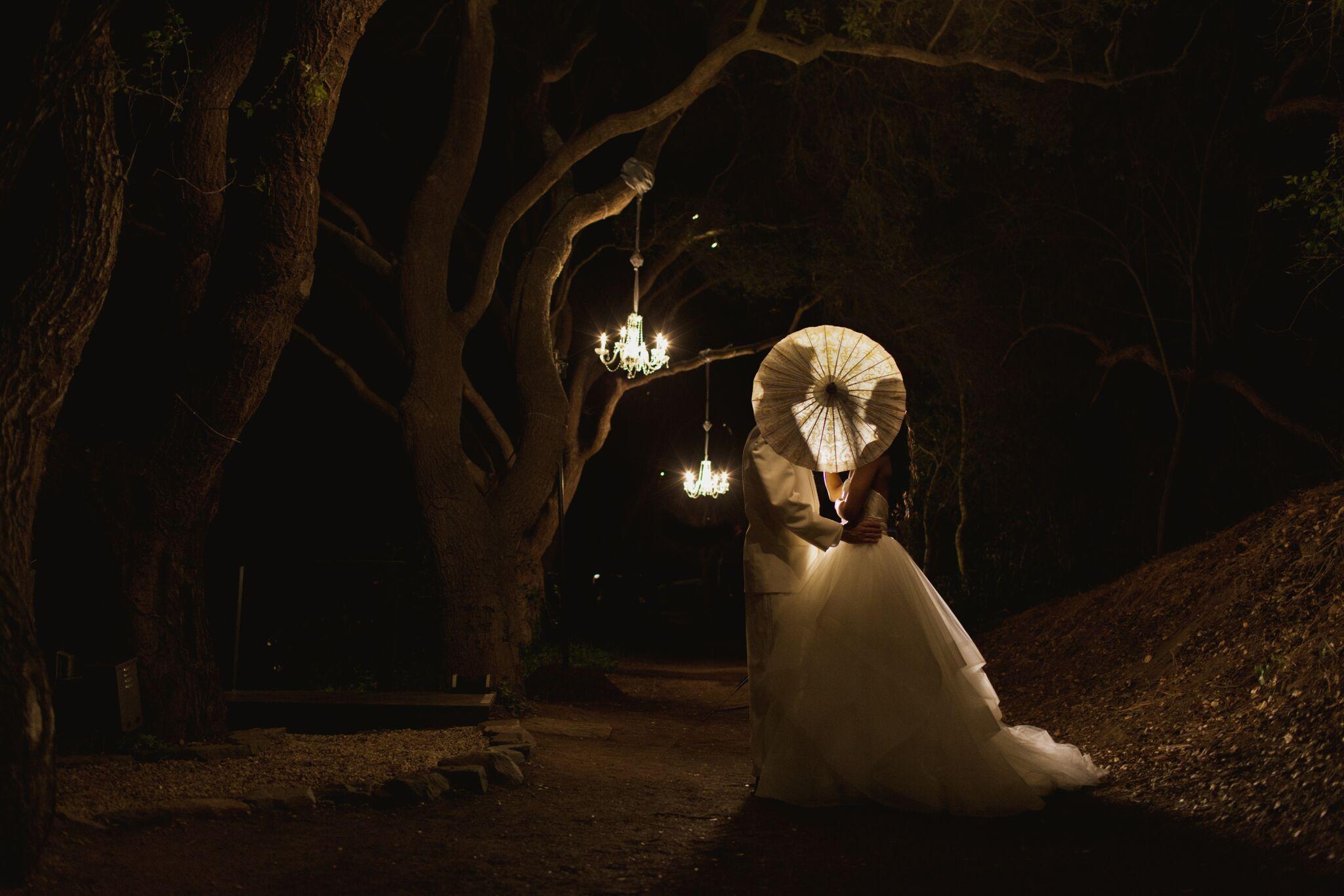 Nightime On The Trails Golden Door Spa In San Diego San Marcos Ca Weddings Wedding Venue Golden Door Spa Golden Door Nature