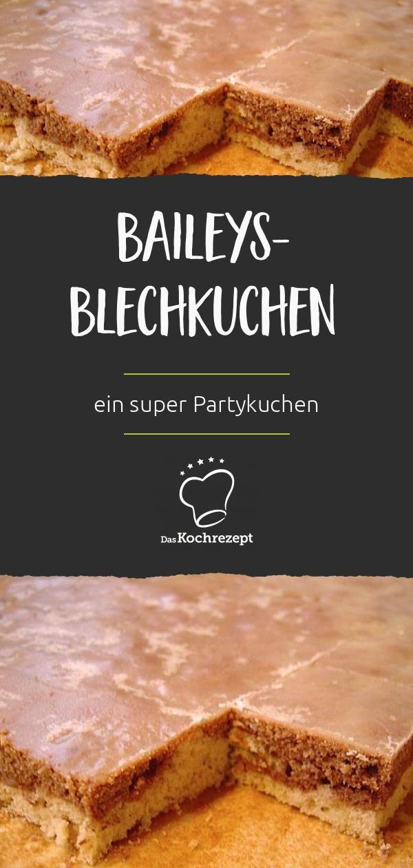 Baileys-Blechkuchen #simpleicingrecipe
