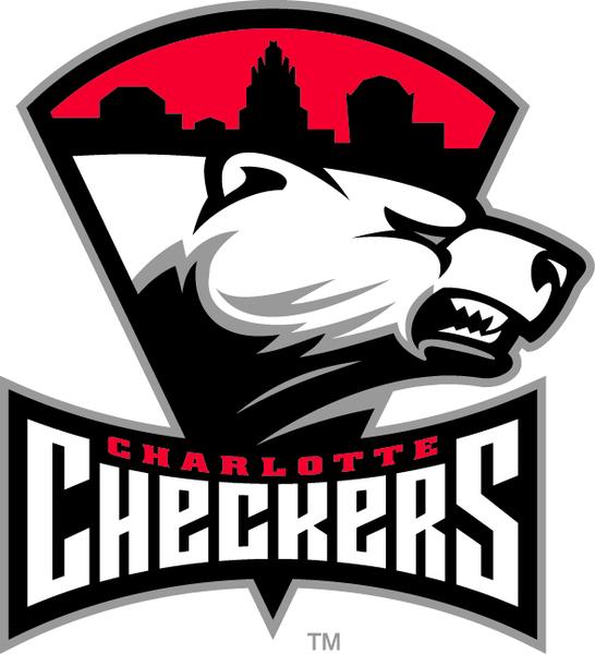 Charlotte Checkers Game 5 Versus The Hershey Bears American Hockey League Hockey Logos Sports Logo