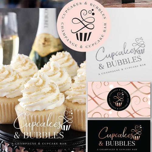 Cupcakes Bubbles Create A Cool Logo For Cupcakes Bubbles A