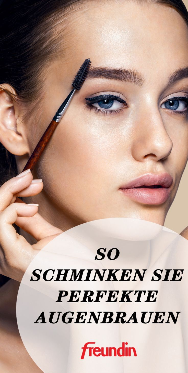 Video-Anleitung: So schminken Sie perfekte Augenbrauen #perfecteyebrows