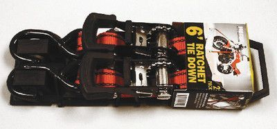 """ProGrip 312620 6' x 1"""" Standard Duty Ratchet with Flex Grip Handle, Hook Loop..."""